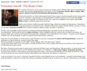 Francesco Garolfi MiaPavia The Blues I Feel